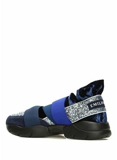 Emilio Pucci Sneakers Lacivert